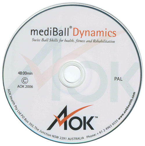swiss ball skills DVD