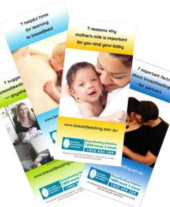 Breastfeeding Tip Card Set
