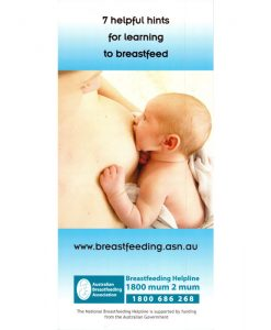Breastfeeding Tip Cards - Learning to Breastfeed 25 Pack