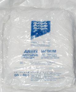 Abdominal sponges
