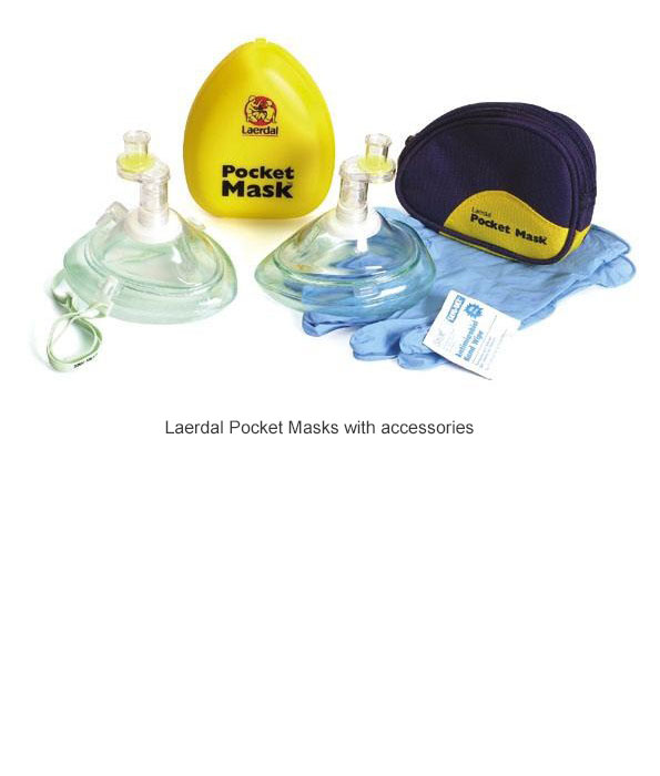 Laerdal Pocket Mask with accessories