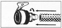 fitting tap adaptor step 2