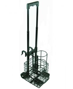 Resuscitation Trolley with Basket for Size C Oxygen Cylinder