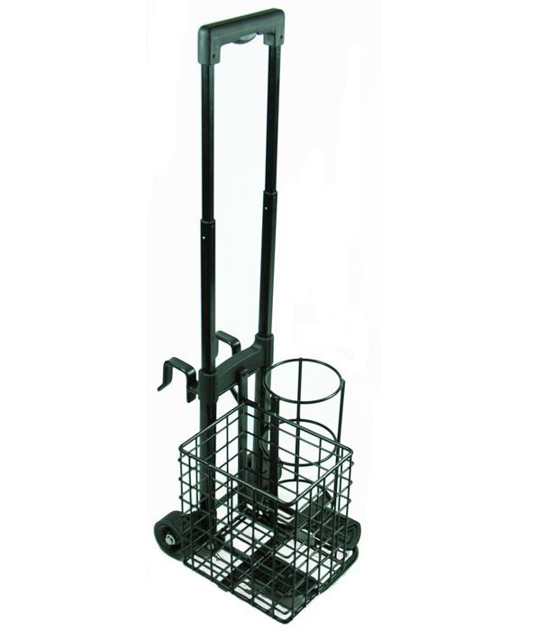 Resuscitation Trolley with Basket for Size C Oxygen Cylinder