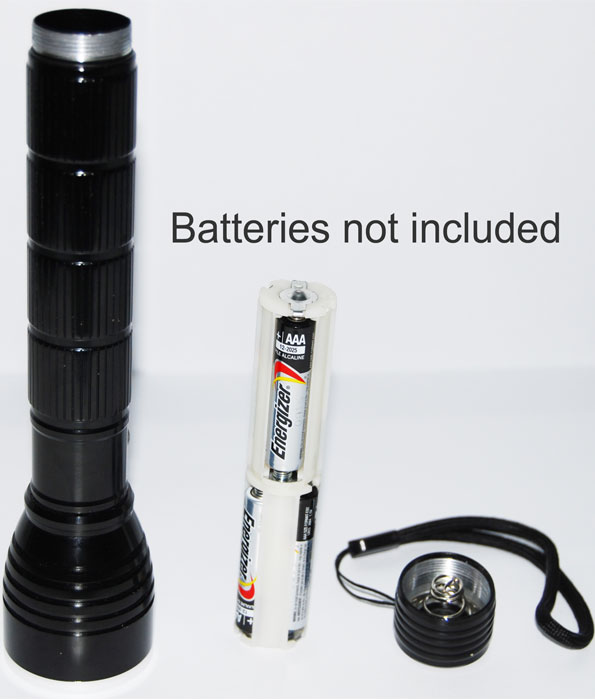 Aluminum LED Torch