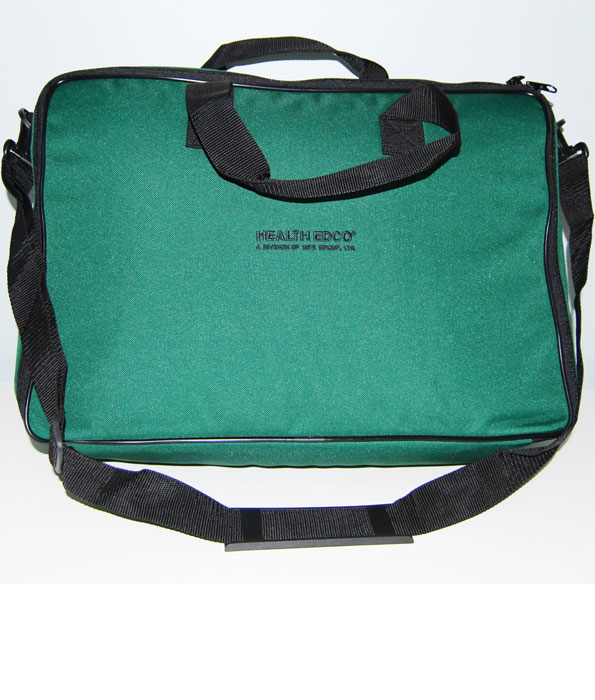 Green Nylon Case with Shoulder Strap