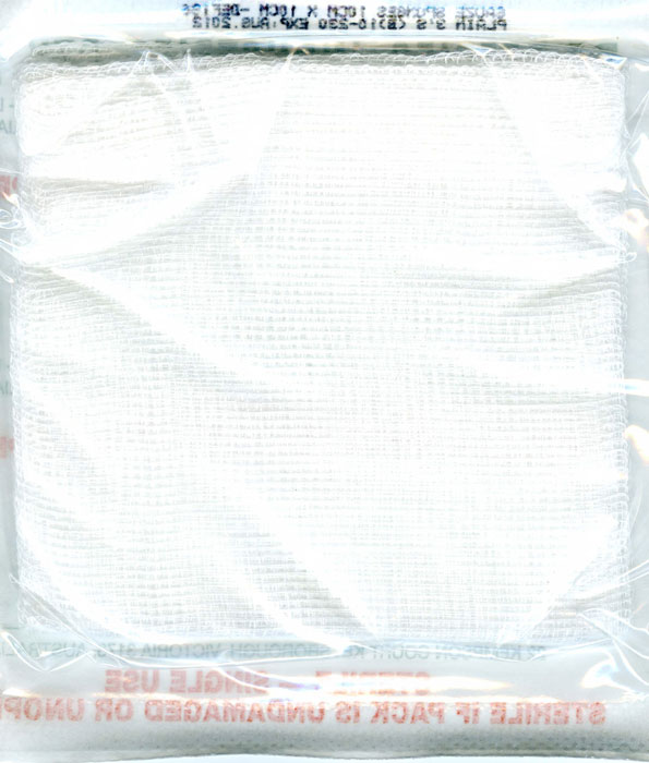Gauze Squares Sterile 7.5cm x 7.5cm
