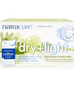 Natracare Incontinence Pads Dry and Light
