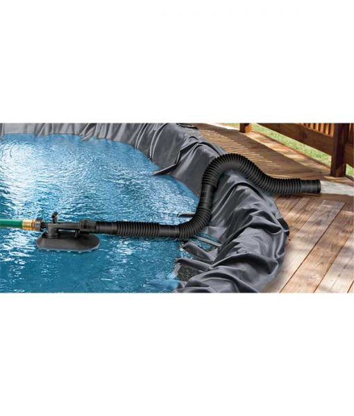 The Birth Pool Drainer is a submersible pump that does not use electricity.
